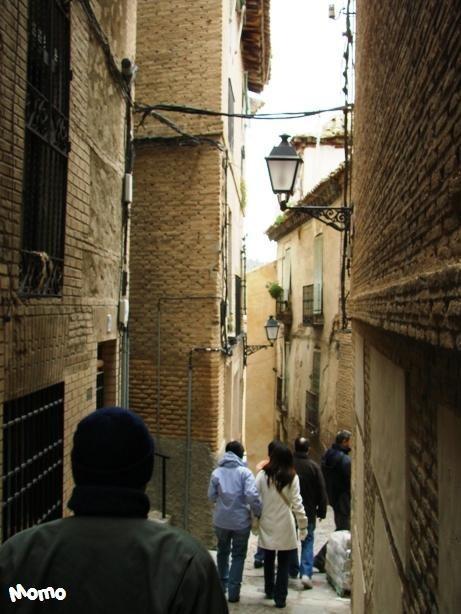 A very small street