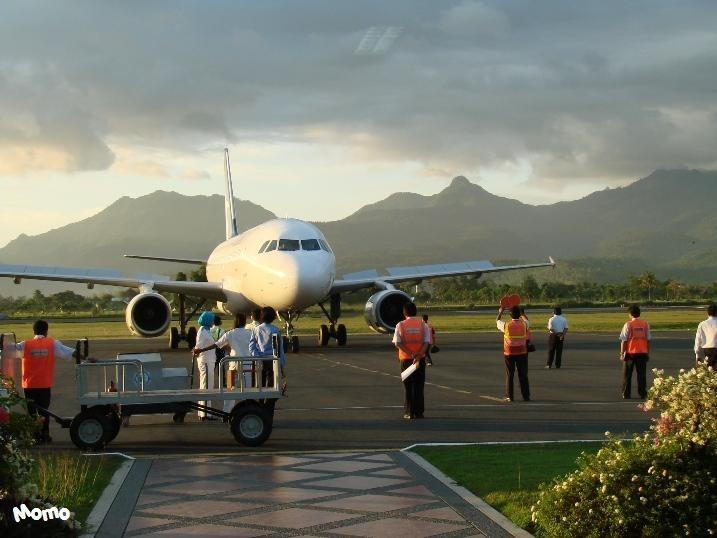 Plane Arrival