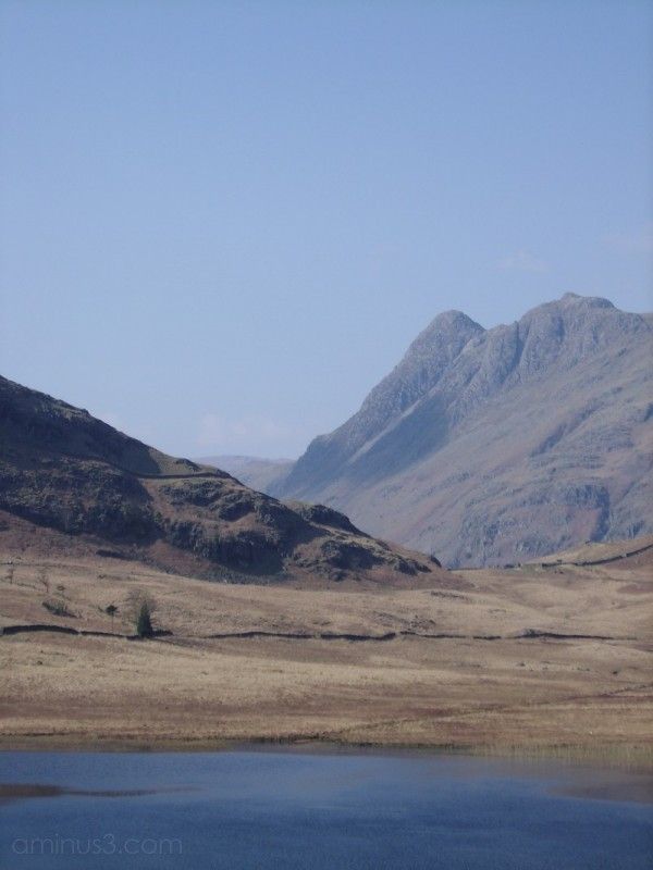 View back to Hardknott Pass