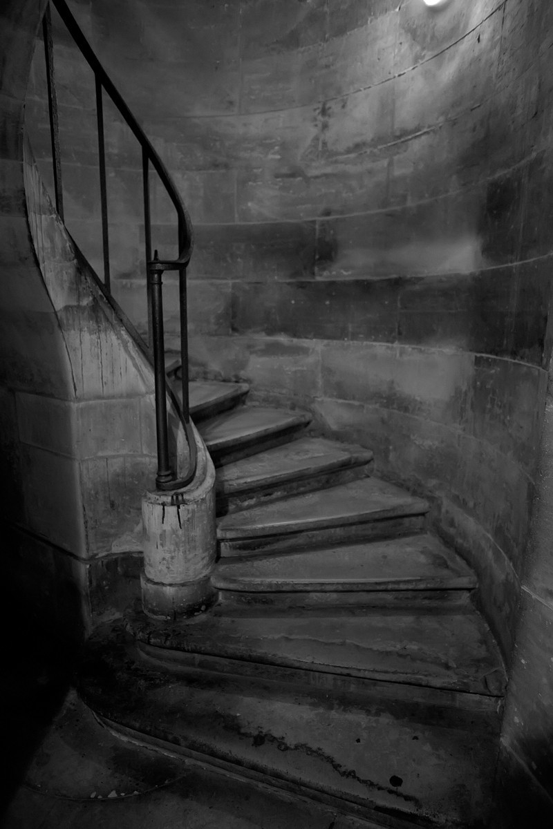 An old stairwell in the Pantheon