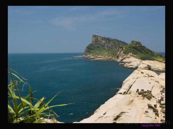 Yeliu Geo Park, Cliff