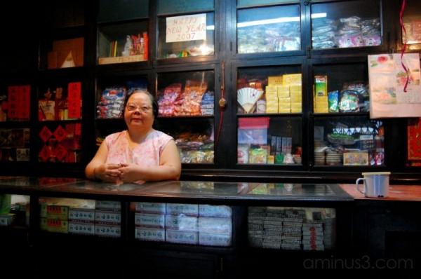 Miss Chen in Chinatown