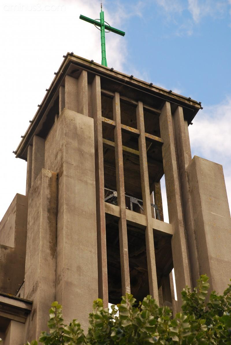 Ultra modern looking church