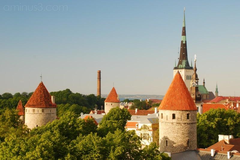 The tallest church in Tallinn