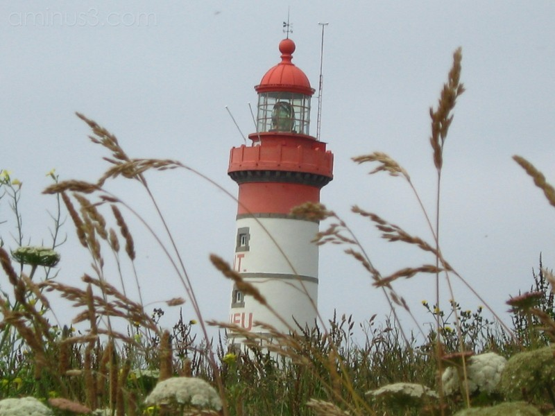 A light house at the coast of Brittany