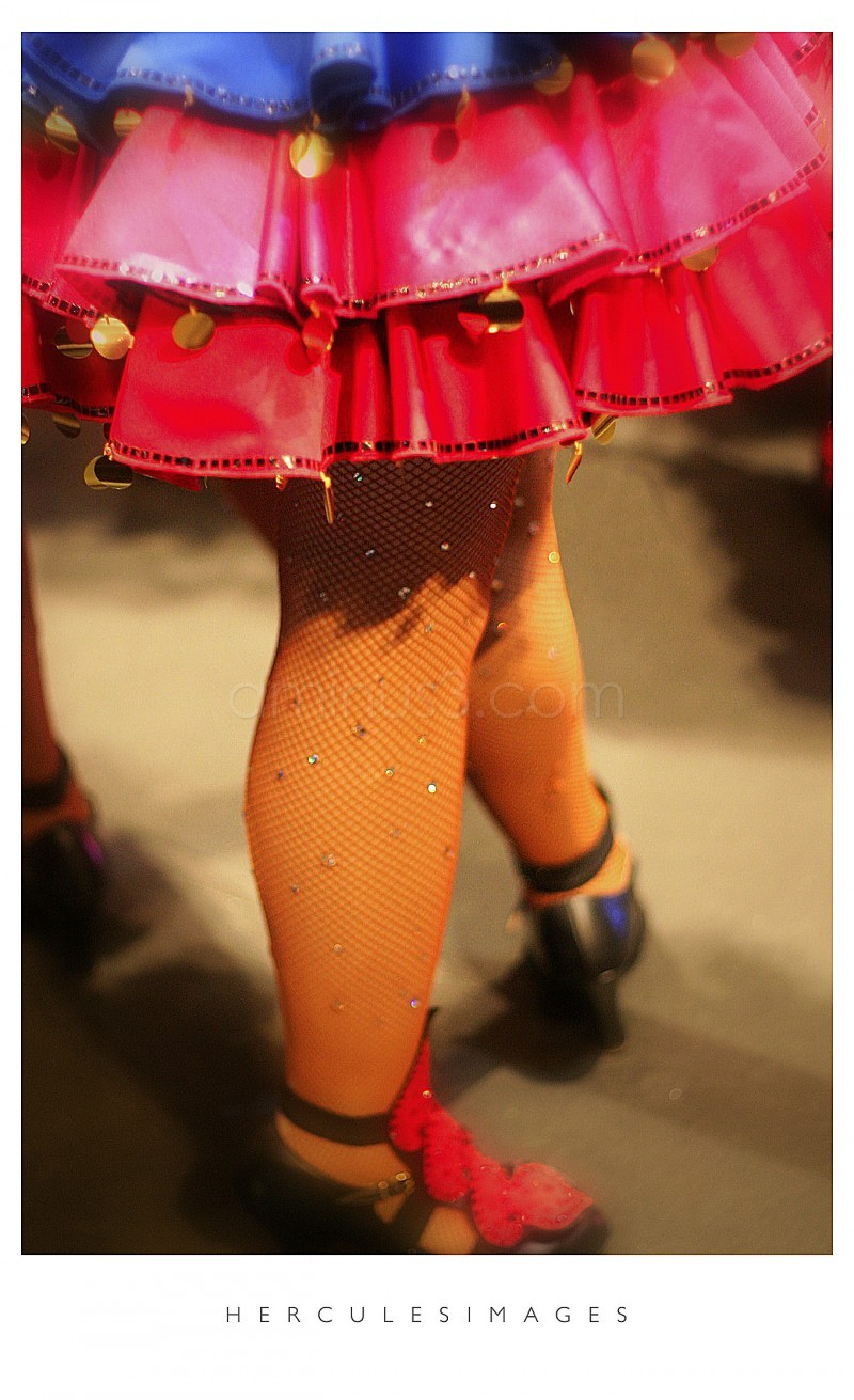 legs of a showgirl