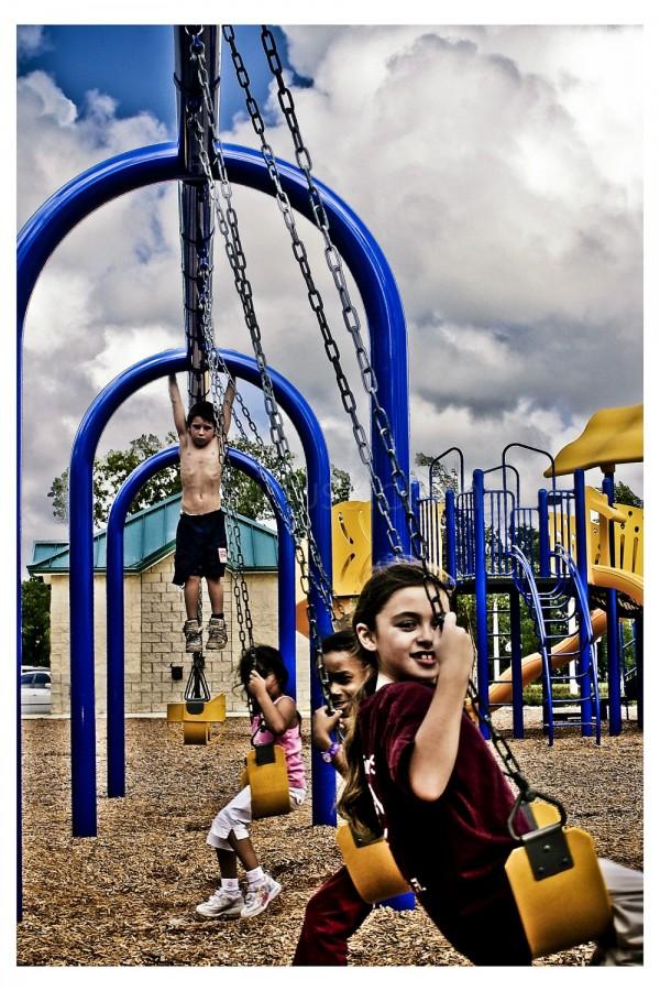 Kids at the playground
