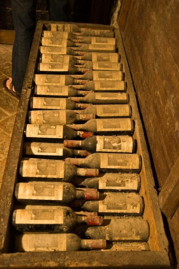 castello di verrazzano wine bottles