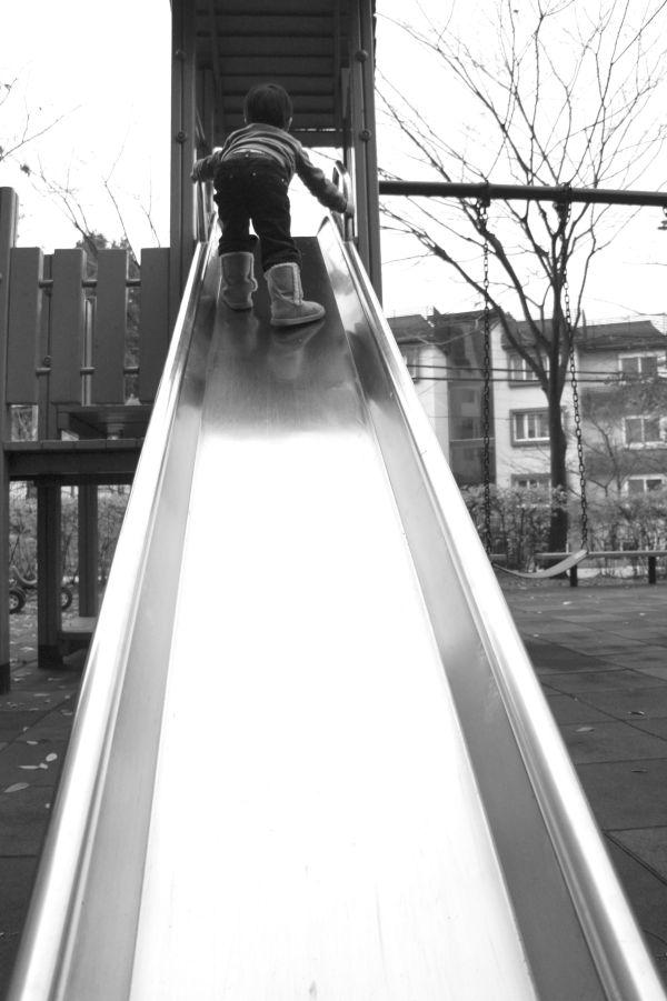 Uphill...