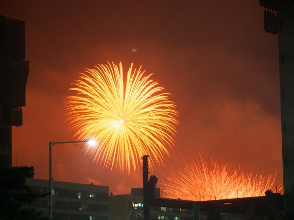 Fireworks in Seoul