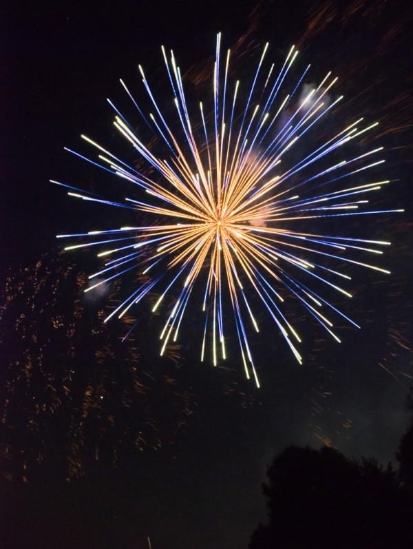 Misty Meadows Fireworks