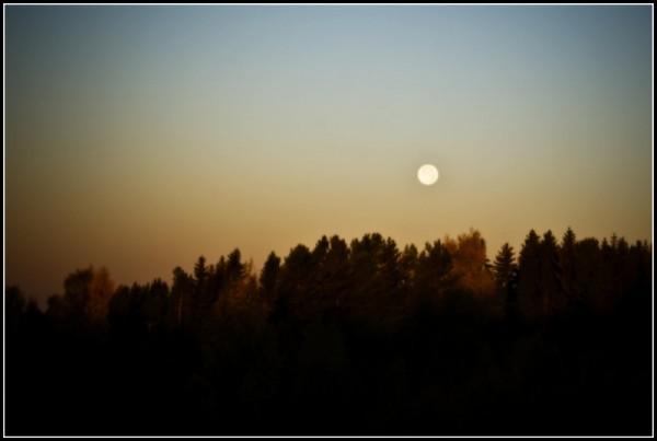 It's a moon