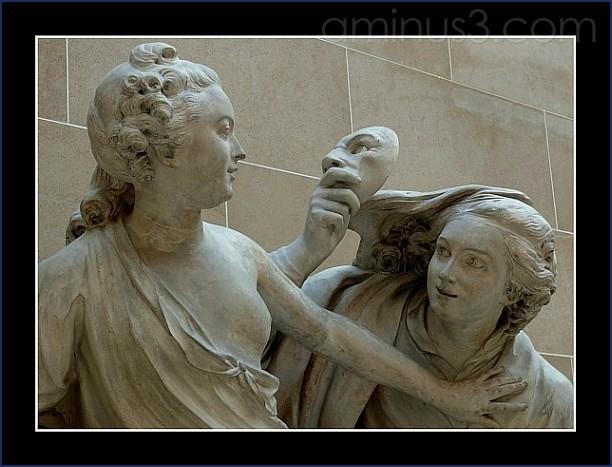A splendid sculpture in Louvre Museum