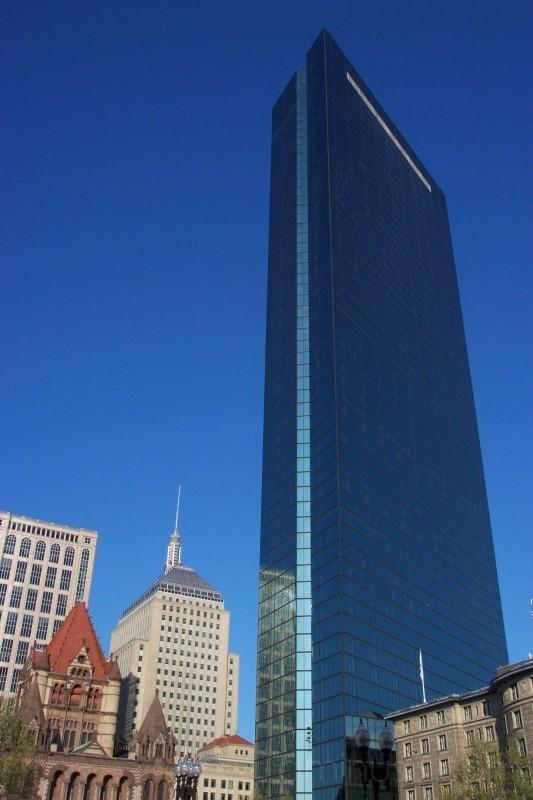 Boston - John Hancock buildings