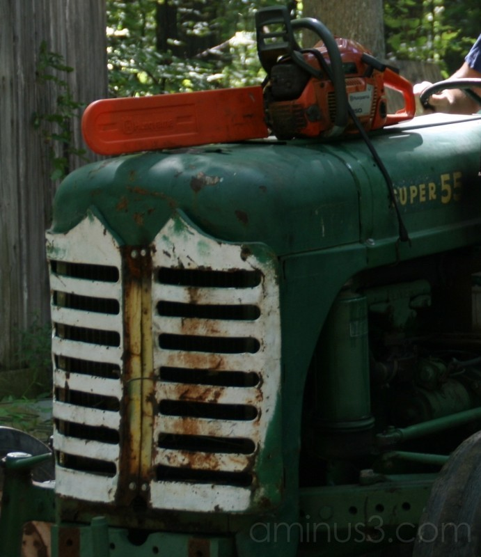 Sexy Green Tractor