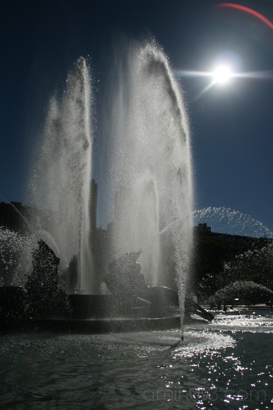 Fountain in the Sun