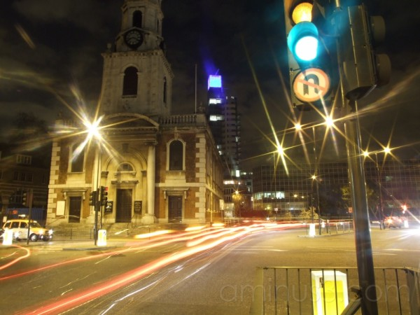 Night life in south east London