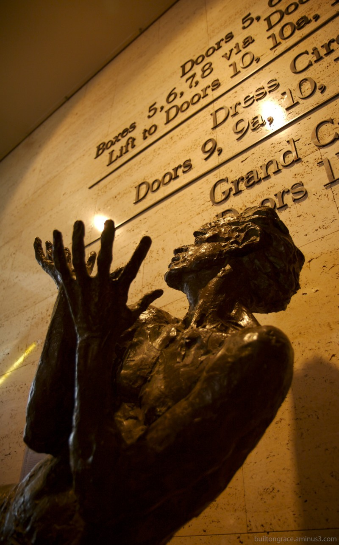 A work in bronze