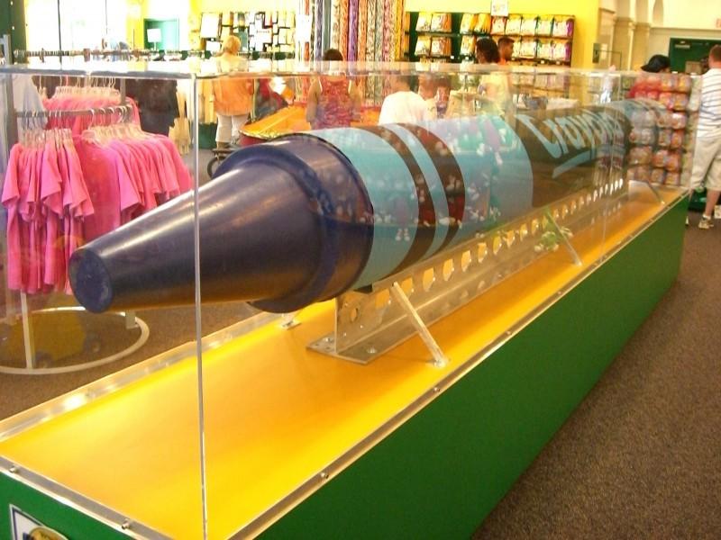 Worlds Largest Crayon