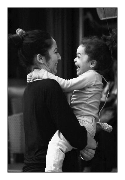 Complicité entre mère et fille