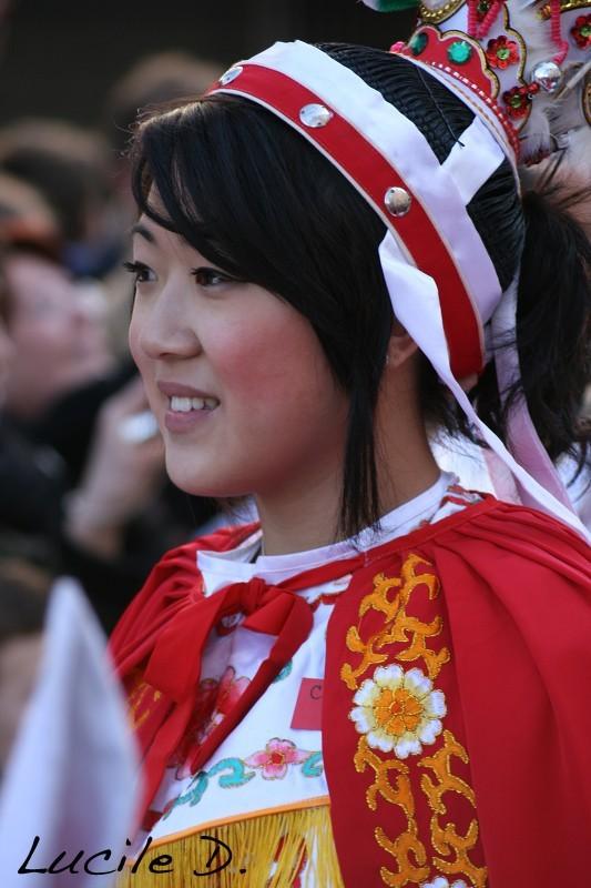 Défiler nouvel an Chinois