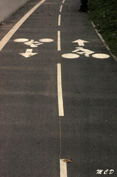 voie pour vélos