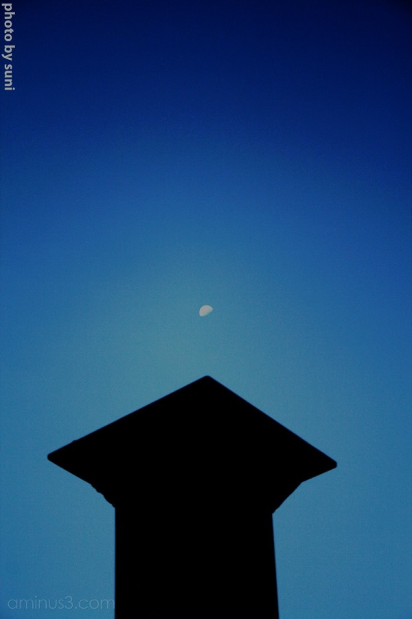Moon on Column