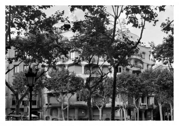 barcelona la pedrera gaudi