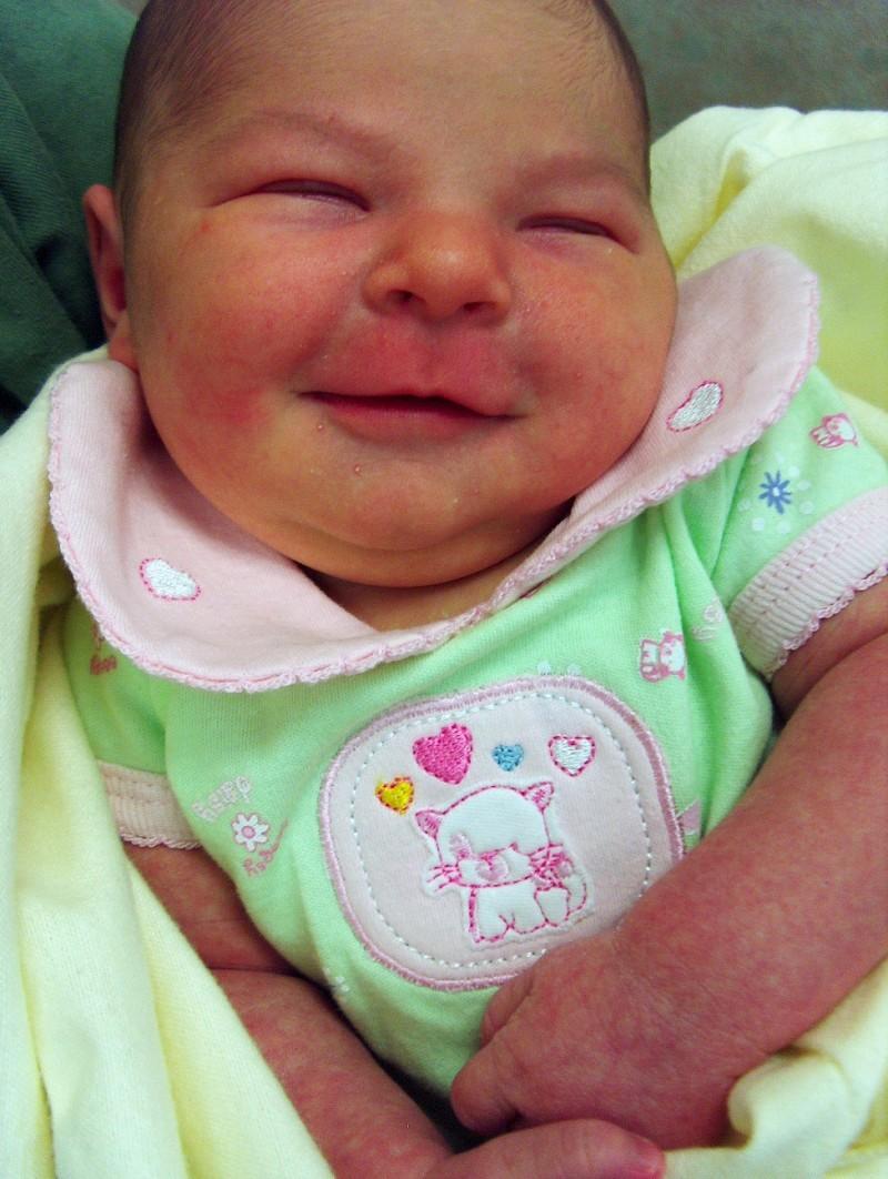 Ashlie smiles