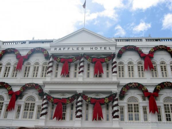 CHRISTMAS AT RAFFLES HOTEL