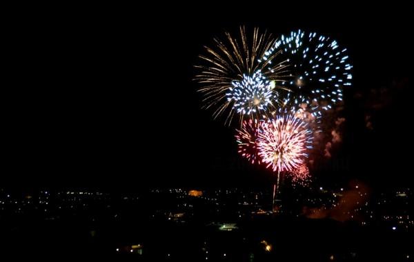 Fireworks in Oman