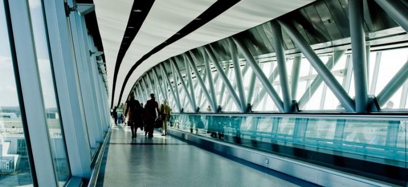 Skybridge of Gatwick Airport