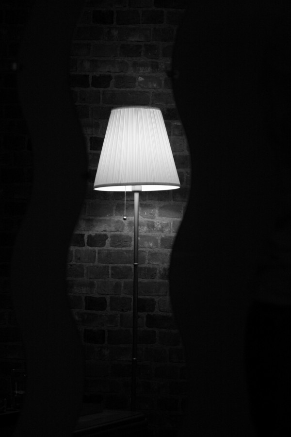 Lamp in Mirror