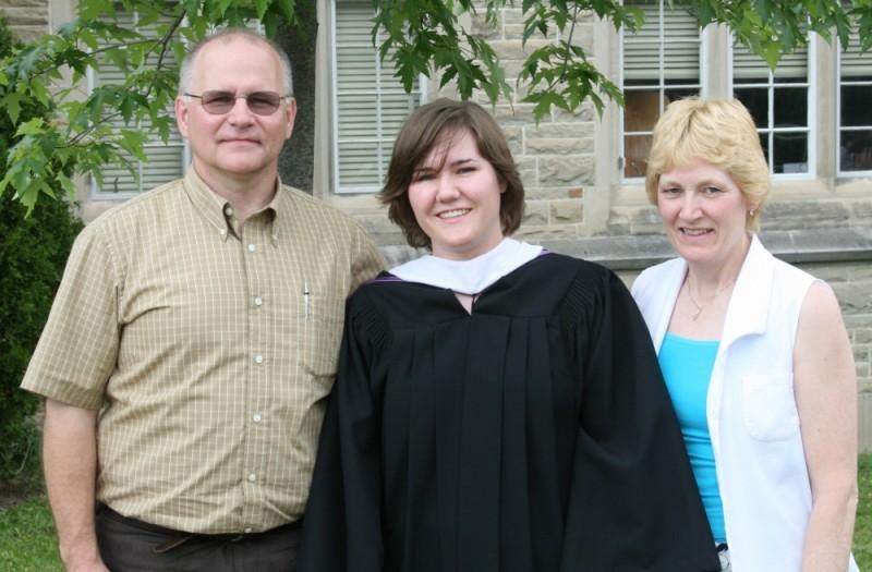 Carrie Graduates