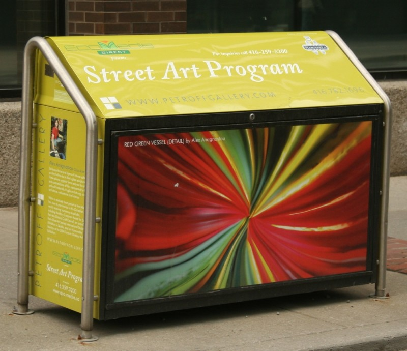 Colourful Garbage Container