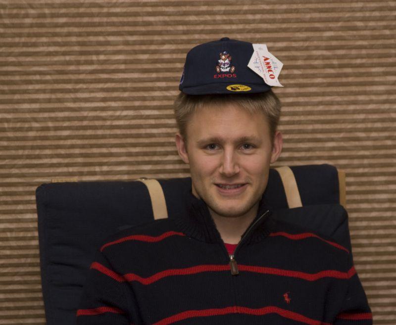 Jamie's new Expo cap