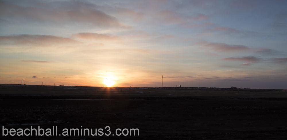 Sun Is Up in Saskatchewan