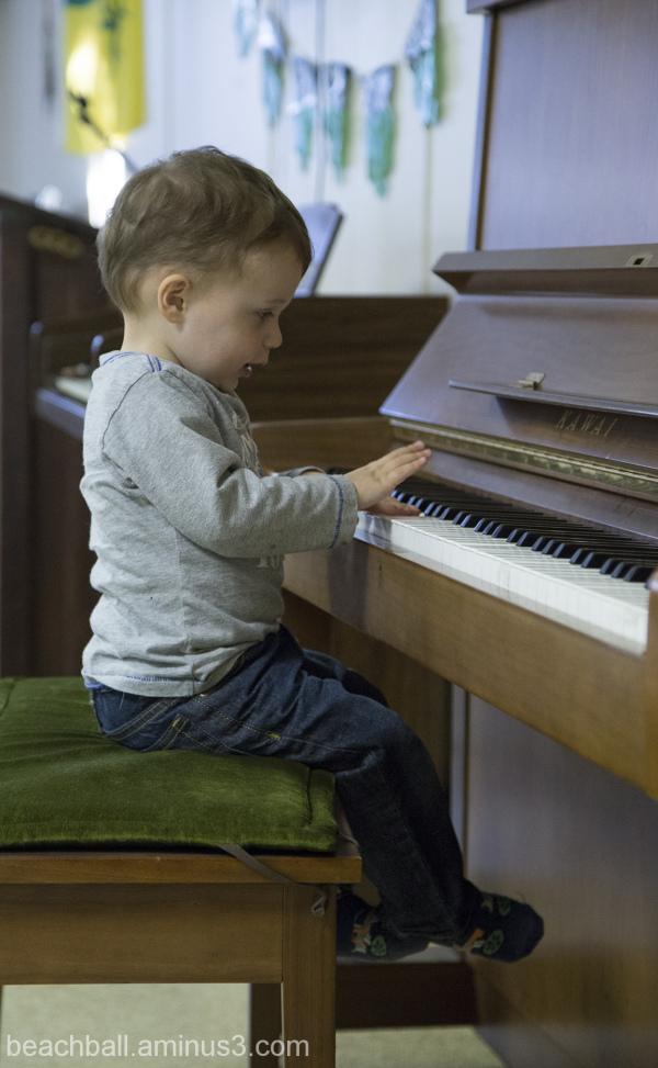 Budding Pianist