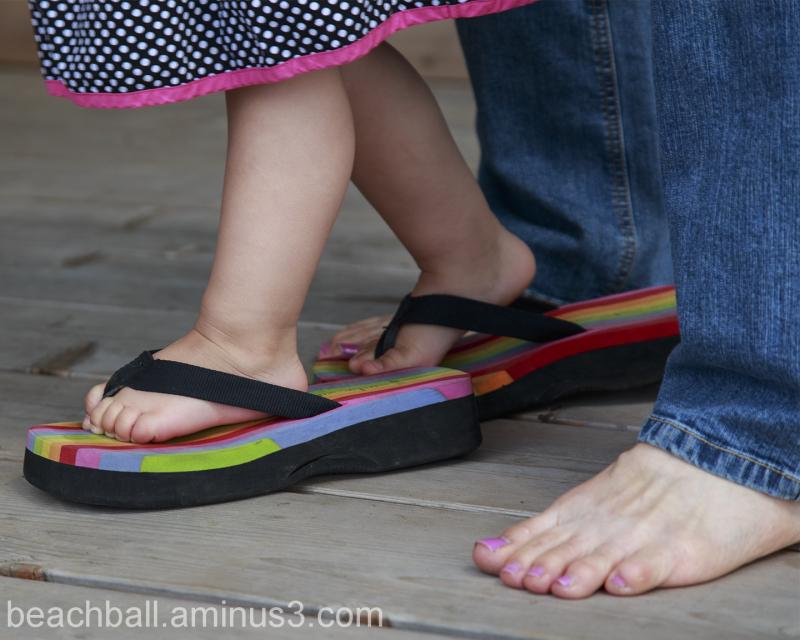 Walking In Grandma's Shoes