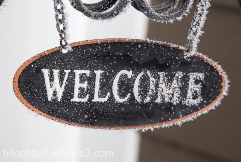 A Frosty Welcome