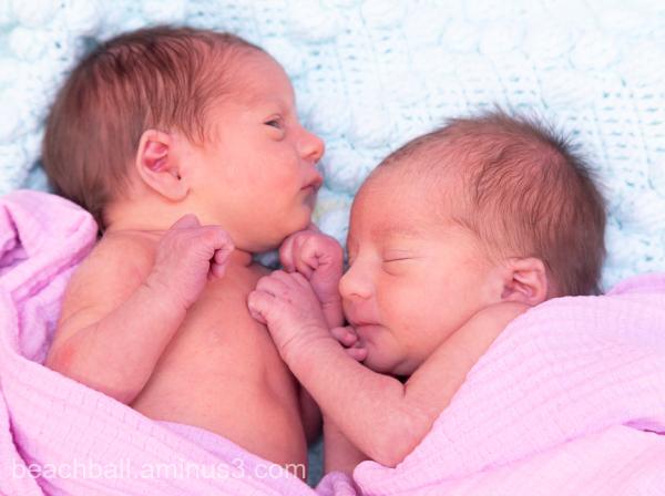 twins baby girls