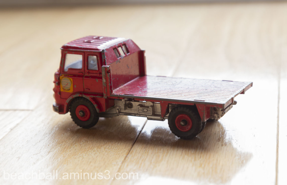 Dinky Toy coal truck