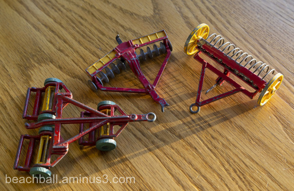Dinky Toy Farm Implements