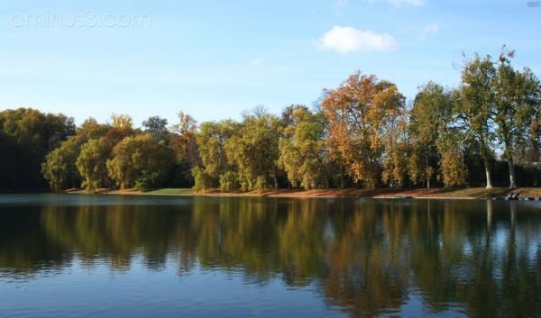 Fontainebleau lake