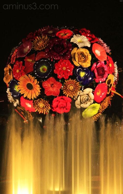 Flowers of Lights (Festival of Lights - Lyon)