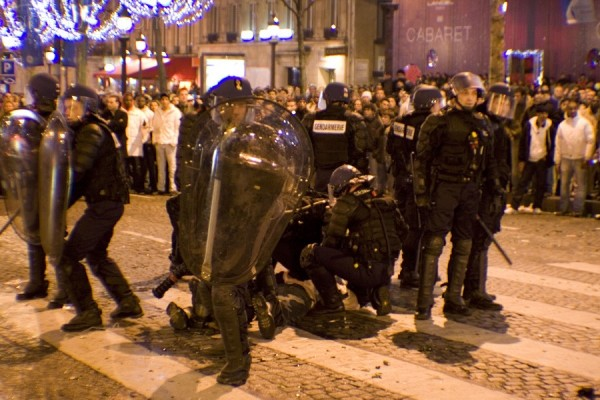 New Year and violence in Paris