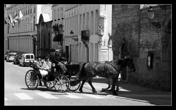 Bruges ensoleillé
