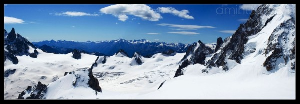 Panorama les Alpes