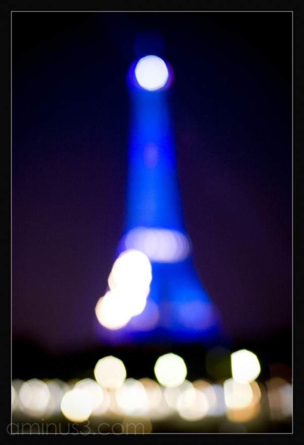 Bokeh of Eiffel