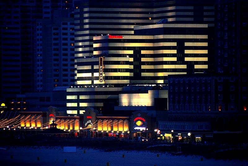 Atlantic City, hotel, boardwalk, seaside